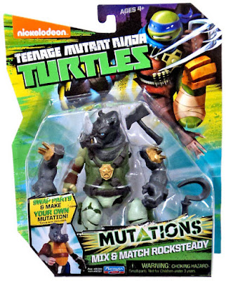 JUGUETES - LAS TORTUGAS NINJA : Mutations  Mix & Match Rocksteady | Muñeco - Figura  Teenage Mutant Ninja Turtles | TMNT | Nickelodeon  Producto Oficial 2015 | Playmates 90391 | A partir de 4 años  Comprar en Amazon
