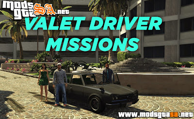 V - Missões de Manobrista para GTA V PC