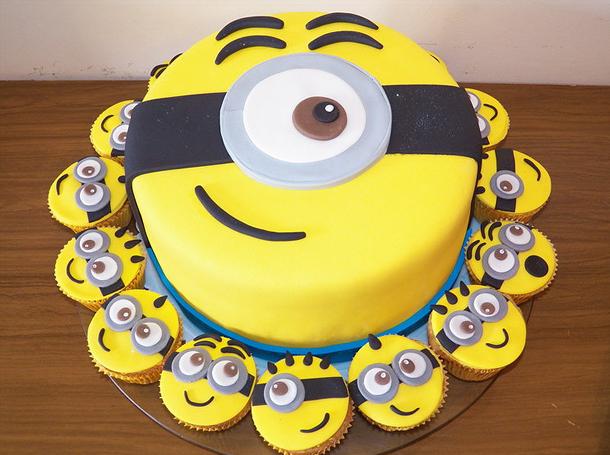 decoracao festa minions : decoracao festa minions:Estou Crescendo: Festa Minions: Decoração de festa infantil Minions