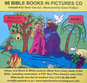 66 BIBLE BOOKS IN PICTURES on CD. (Ook in Afrikaans beskikbaar)