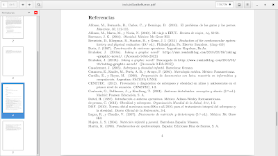 Insertando referencias en latex