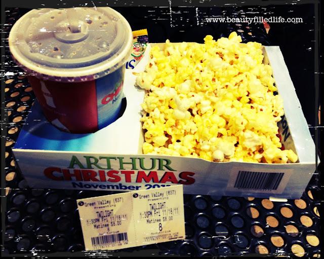 Breaking Dawn Part 1, Twilight, movie popcorn
