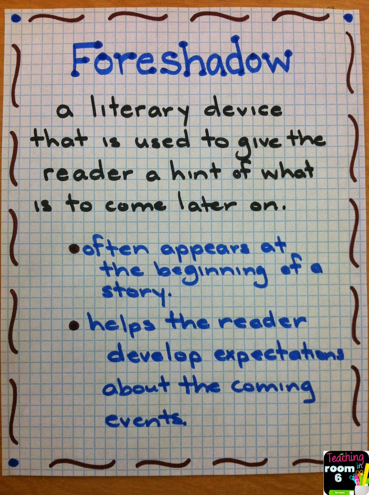 the use of foreshadowing in a Define foreshadow: to represent, indicate, or typify beforehand : prefigure — foreshadow in a sentence.