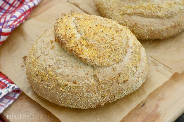 Polenta Bread - All Roads Lead to the Kitchen