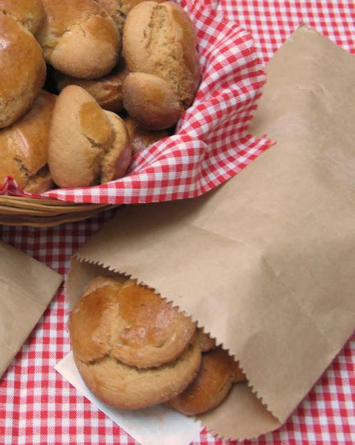 Olive oil biscuits - recipe