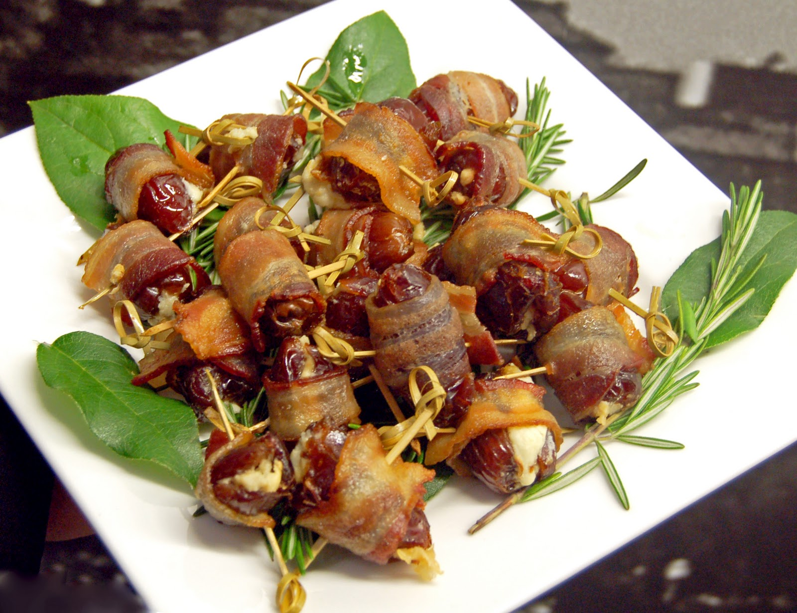 Bacon wrapped dates paleo in Perth