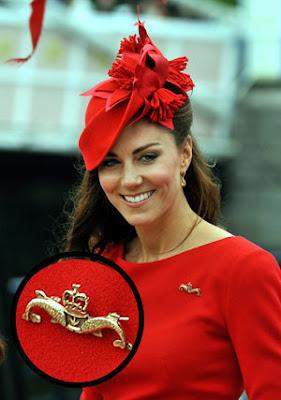 Gaya Busana Kate Middleton di ULTAH Ratu Elizabeth ke-60