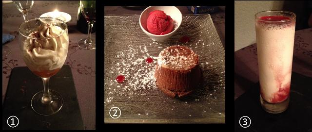 image desserts restaurant Le Victor Hugo à Saint Céré