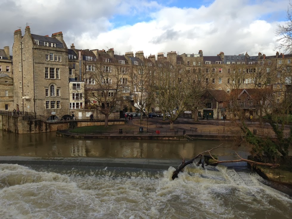 Near the Pulteney Bridge, Bath