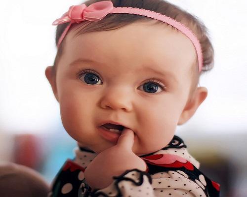 Photo bébé fille gratuit