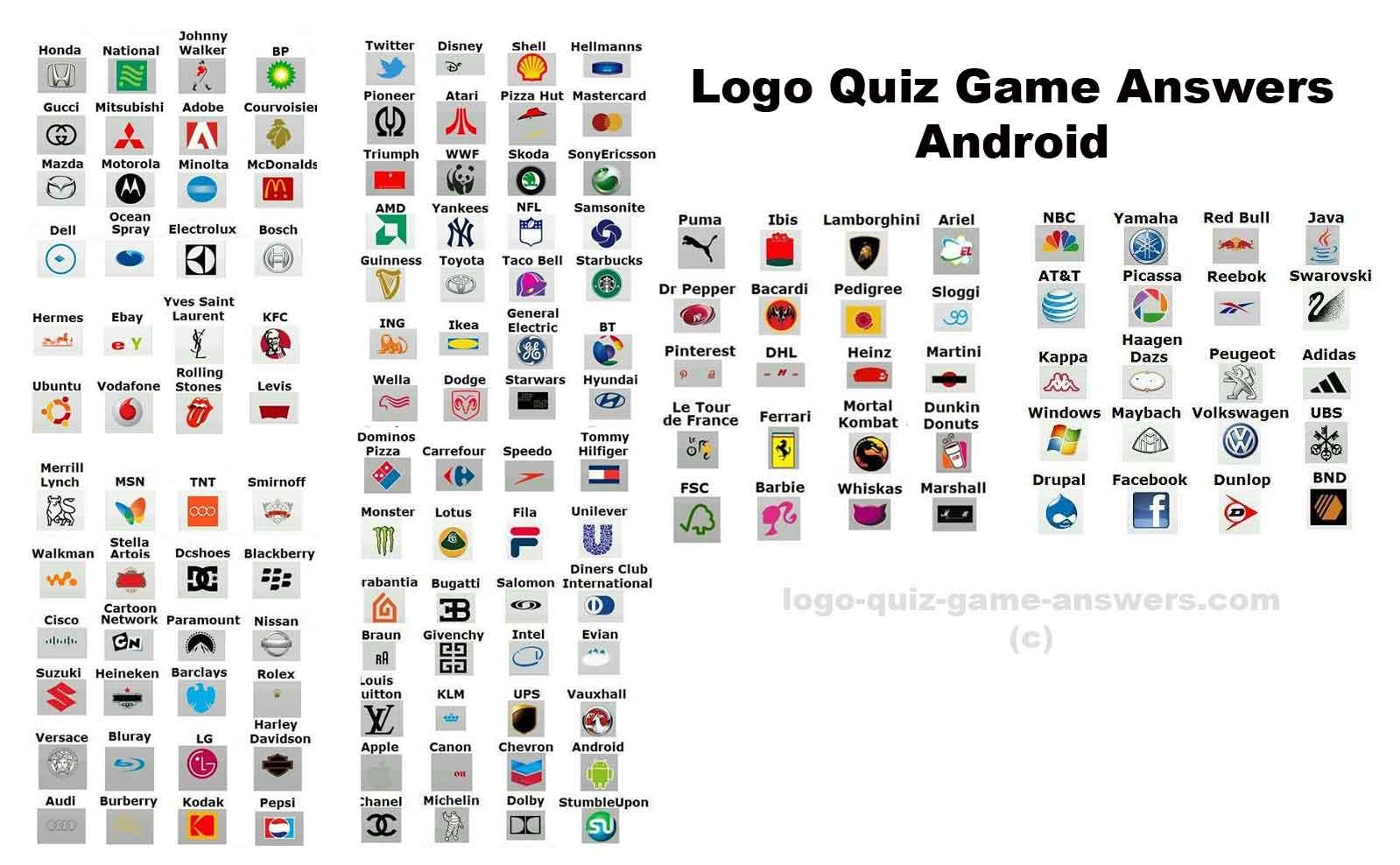 all about logo logo quiz. Black Bedroom Furniture Sets. Home Design Ideas