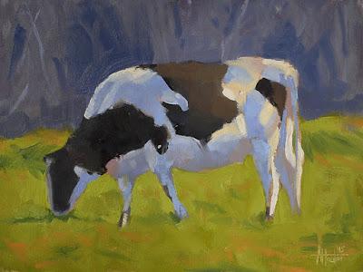 No. 344 - Grazing Cow II