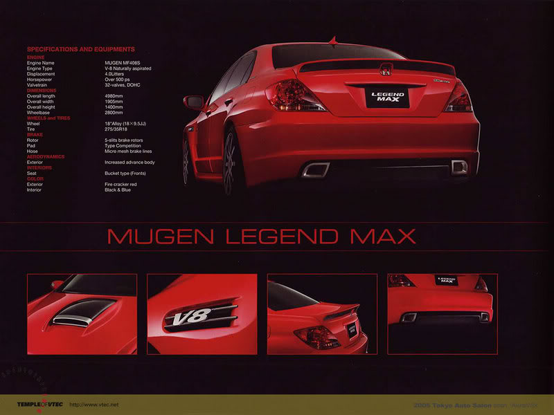 The Jdm Spot The Mugen Honda Legend