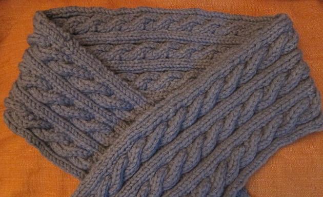 Comment tricoter une torsade reversible - Faire une boutonniere au tricot ...