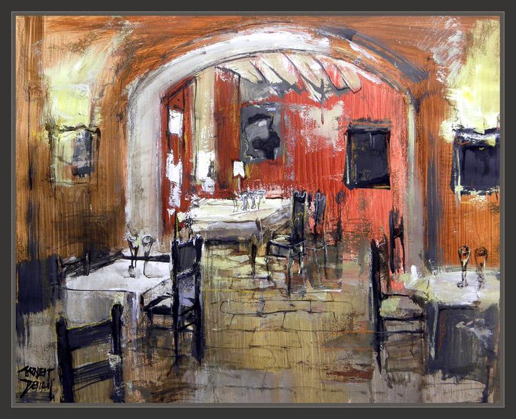 Ernest descals artista pintor pintura notas de viaje for Cuadros de pinturas para comedor