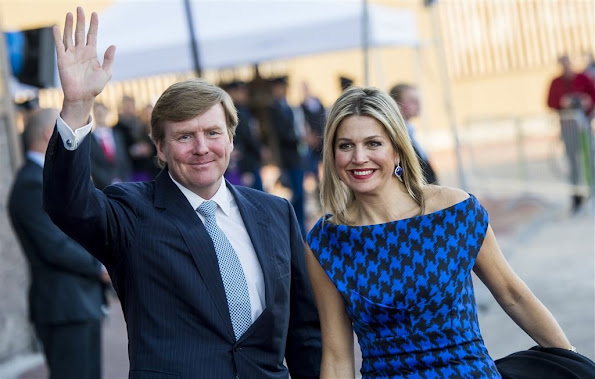 Queen Maxima of The Netherlands and King Willem-Alexander of The Netherlands, Princess Beatrix and Princess Margriet of The Netherlands attended the Koningsdagconcert at the Energiehuis