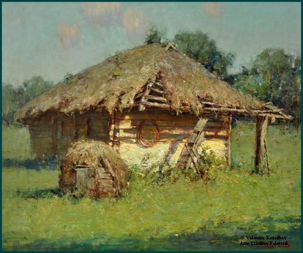 Painter Valentin Korothov.