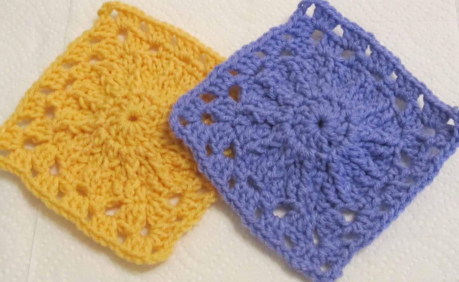 Crocheting Squares : SmoothFox Crochet and Knit: SmoothFox Charity Square Nbr 1 thru 4 ...