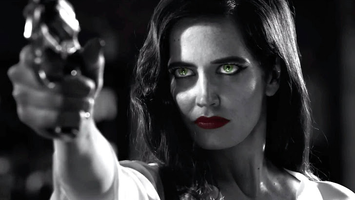 Eva Green Sin City A Dame to Kill For Movie