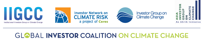 Global Investor Coalition on Climate Change Logo (Credit: globalinvestorcoalition.org) Click to Enlarge.