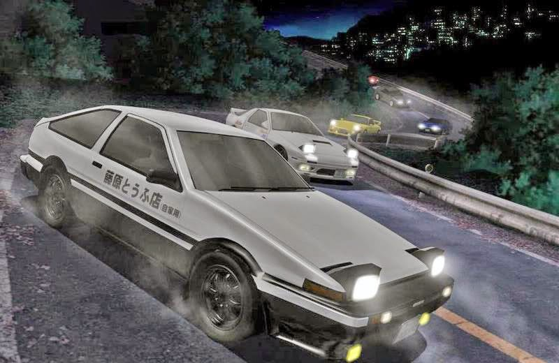 Initial D: First Stage Subtitle Indonesia [Lengkap]