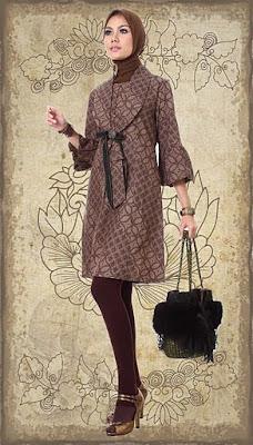 Model Baju Muslim Terbaru 2012