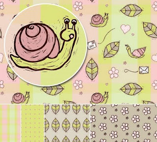 Snail Mail Pattern