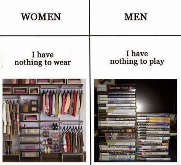 Men VS Women : Colletion
