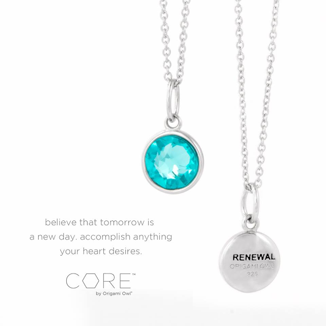 CORE by Origami Owl - Renewal Necklace - Come create your own unique look at StoriedCharms.com