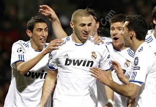 Lyon, Real Madrid, Real Madrid players, Lyon players, C.Ronaldo, Ronaldo ,Benzema, HQ Photo, UEFA Champion's League