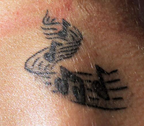 Cute tattoo pictures dance tattoos picture for Jade dragon tattoo