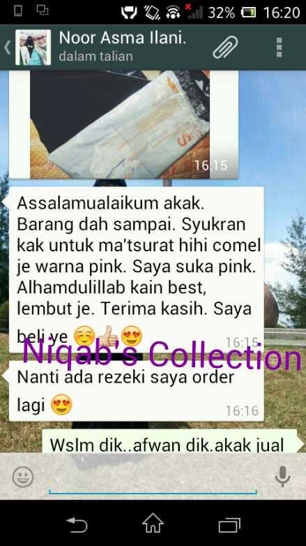 niqab's collection, tudung labuh, niqab, purdah