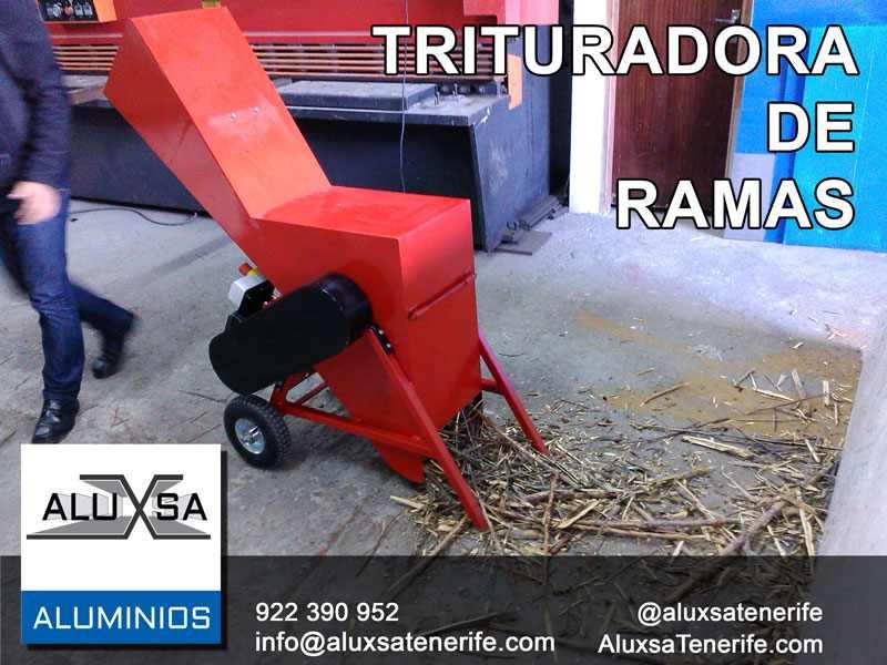 Trituradora de ramas para fabricar compost en Tenerife