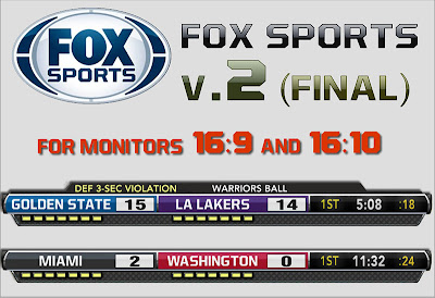 NBA 2K13 FOX Sports TV Scoreboard Mod v2 Patch