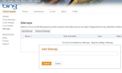 sitemap add