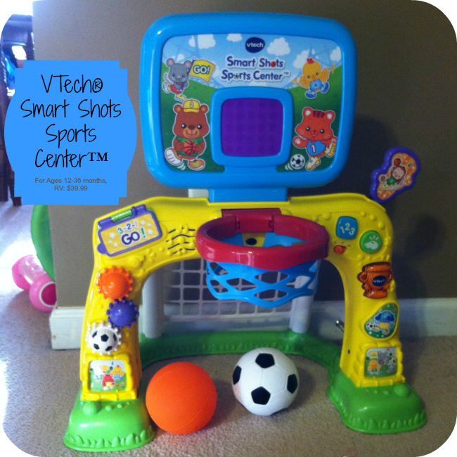 VTech® Smart Shots Sports Center™ Review