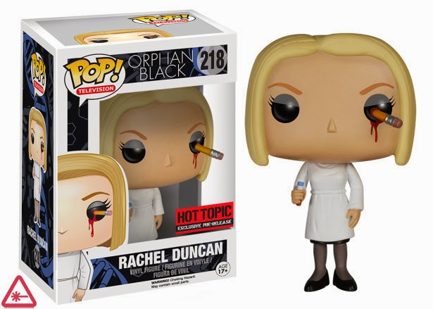 Funko Pop! Pencil in the eye Rachel Duncan Orphan Black