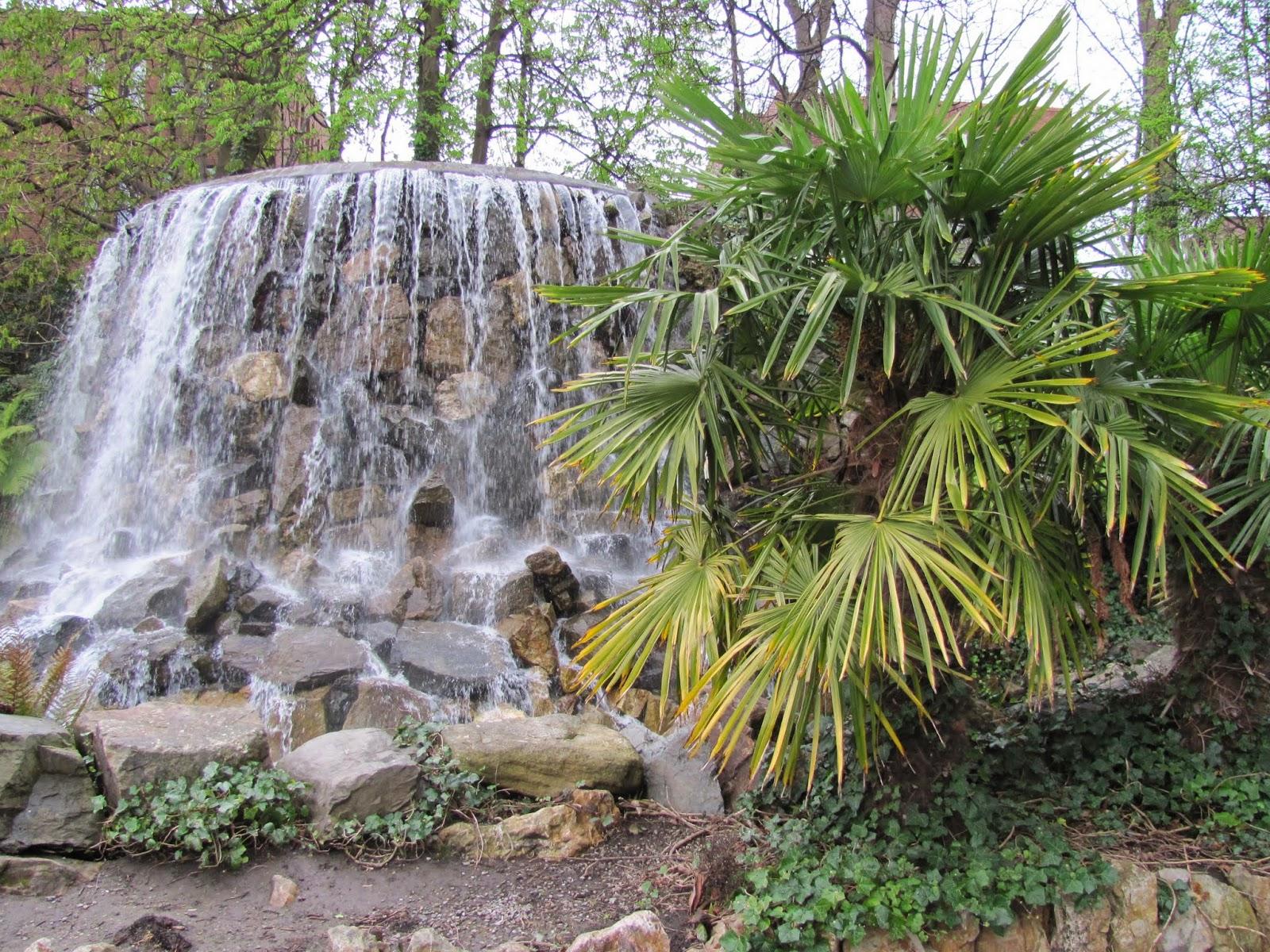 Iveagh Gardens Cascade Fountain