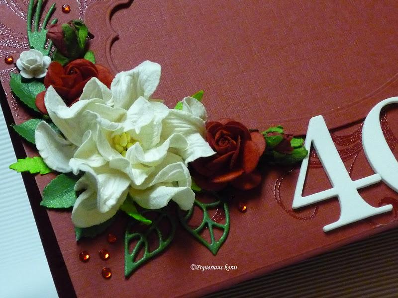 ...Popieriaus kerai...: Rubininių vestuvių jubiliejus - 40