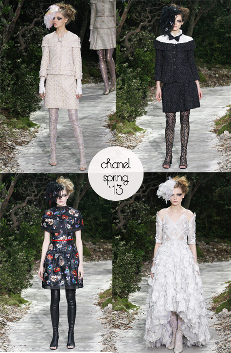 A Midsummer Nights Dream in the Garden of Chanel