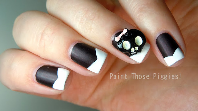 Nail Art Collection A Sweet And Girly Halloween 2 Manisa Kitty