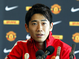 Shinji Kagawa, Manchester United id