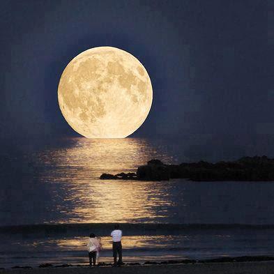 luna, moon