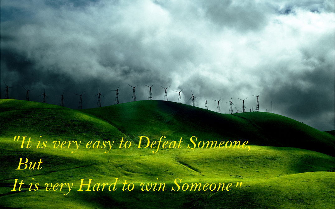 Hard To Win Quotes Images