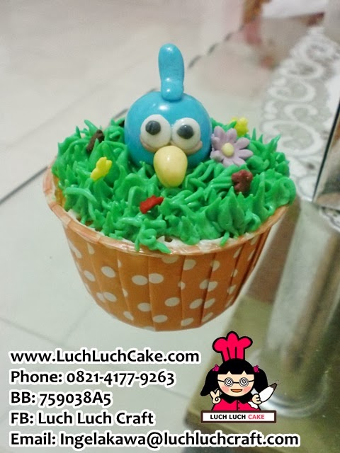 Jual Cupcake Angry Bird Daerah Surabaya dan Sidoarjo