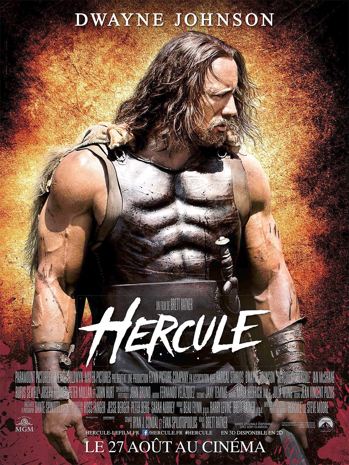 Hercules French Poster and New Clip : Teaser Trailer