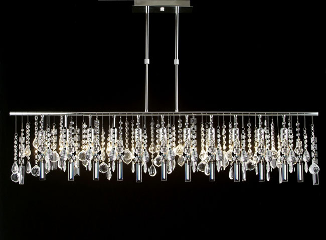 Anyone can decorate crystal chandelier prisms my source for Modern crystal chandelier for dining room
