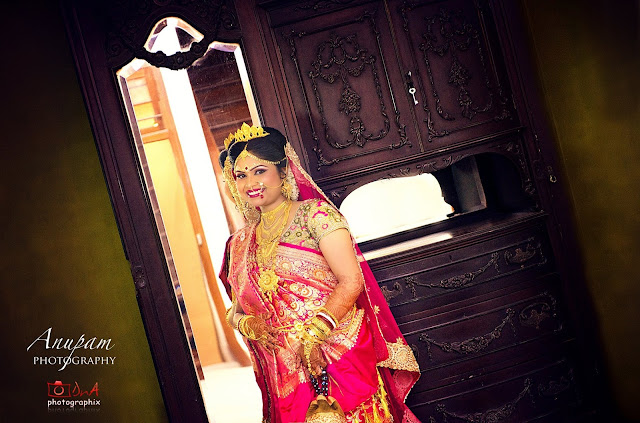Bengali Bridal Reception dress