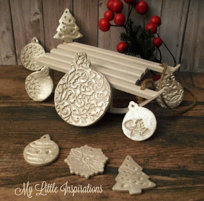 How to make stamped clay decorations - MLI