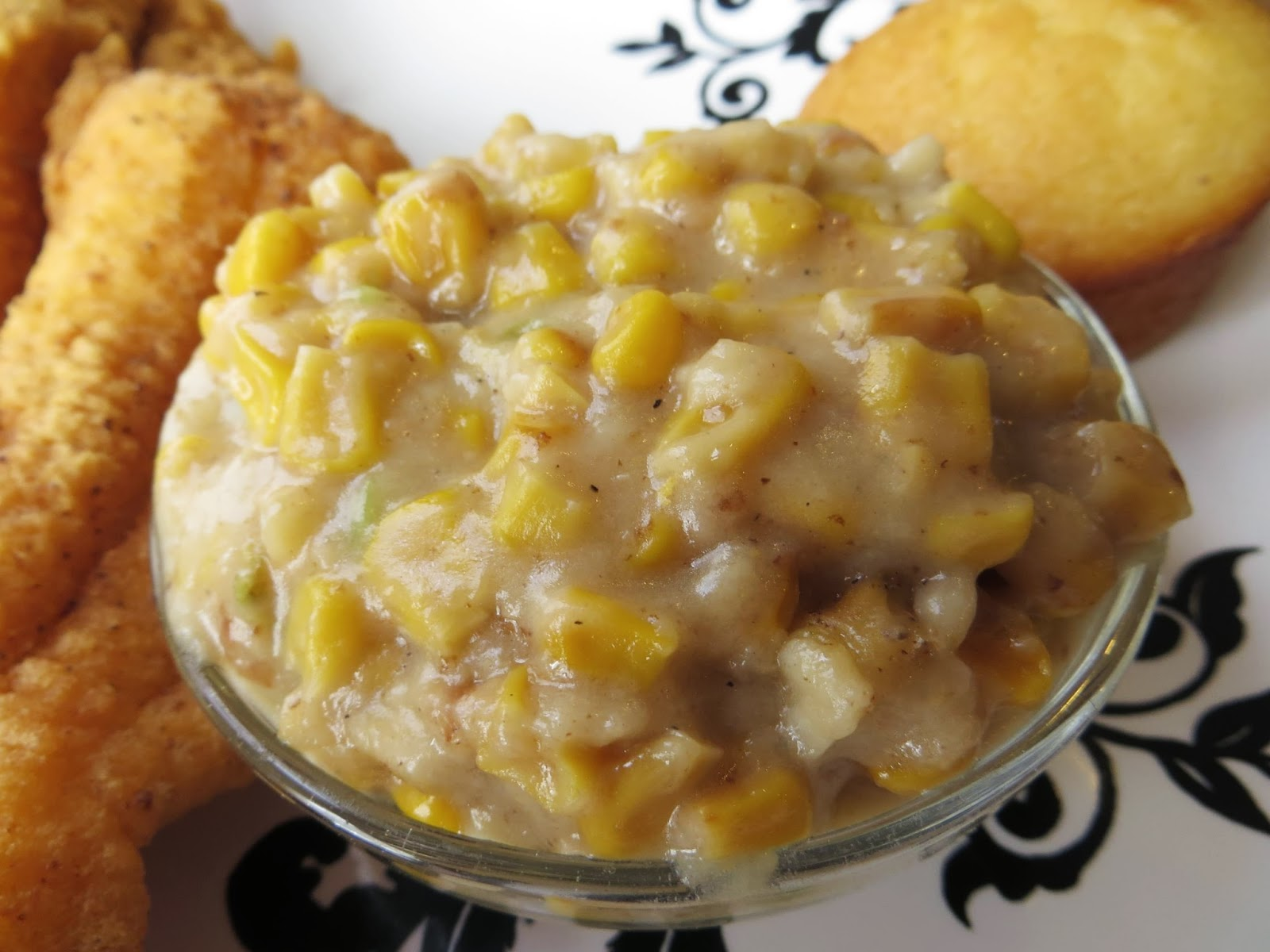 creamed corn miss viness was a grand cook wonderful pianist and sweet ...